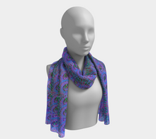 Load image into Gallery viewer, Love Of Fractals Scarf - Astral Wizard Art