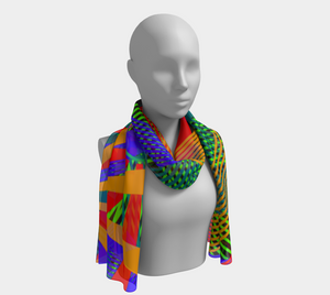 Summer Dreams Scarf - Astral Wizard Art