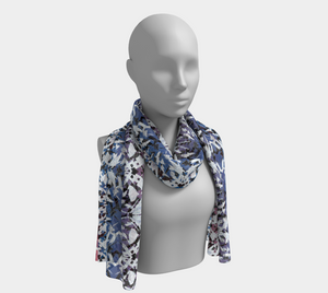 Candy Abstract Scarf - Astral Wizard Art