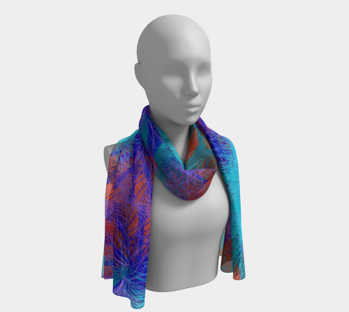 Ocean Forests Fashion Scarf - Astral Wizard Art