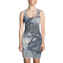 Load image into Gallery viewer, Fogged Out BodyCon Dress - Astral Wizard Art