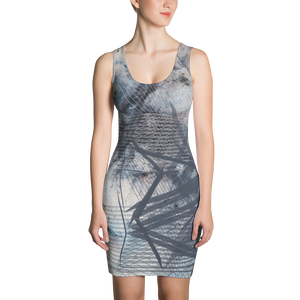 Fogged Out BodyCon Dress - Astral Wizard Art