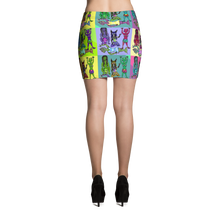 Load image into Gallery viewer, WookLife Mini Skirt - Astral Wizard Art