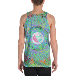 Midnight Clouds Tank Top - Astral Wizard Art