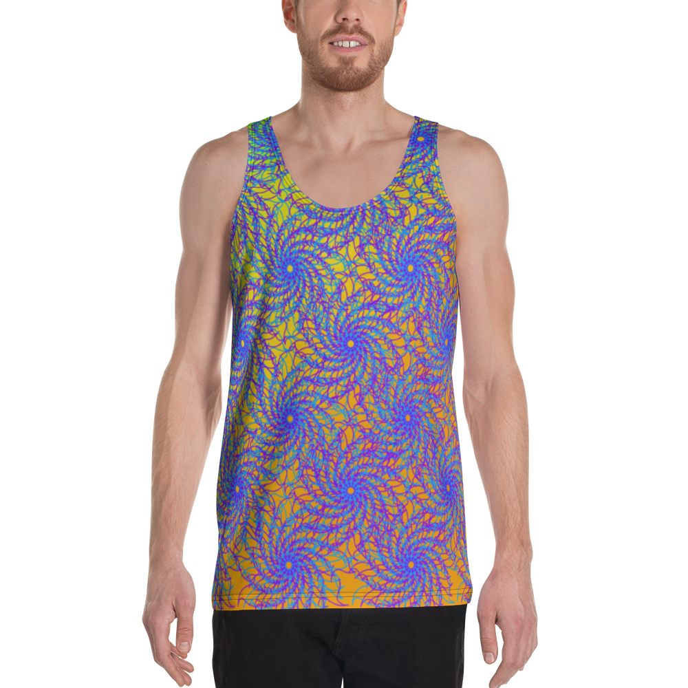 Twisting Nethers Tank Top - Astral Wizard Art