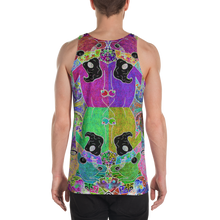 Load image into Gallery viewer, Trippin' Wizard Tank Top - Astral Wizard Art