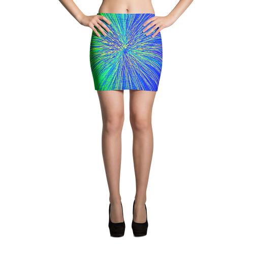 Atomic Blast Mini Skirt - Astral Wizard Art