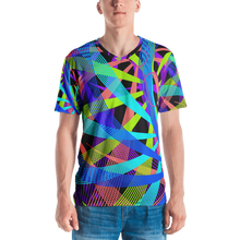 Load image into Gallery viewer, Blue Vortex T-shirt - Astral Wizard Art