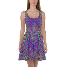 Load image into Gallery viewer, Ayahuasca Dreams Skater Dress - Astral Wizard Art