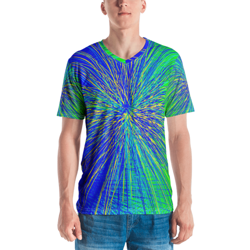 Atomic Blast T-shirt - Astral Wizard Art