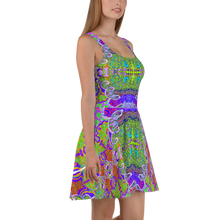 Load image into Gallery viewer, Let Go Skater Dress - Astral Wizard Art