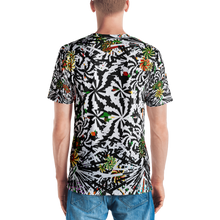 Load image into Gallery viewer, Black Ahimsa Geometric T-shirt - Astral Wizard Art