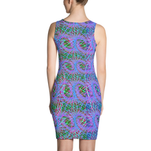 Load image into Gallery viewer, Love Fractals BodyCon Dress - Astral Wizard Art