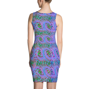Love Fractals BodyCon Dress - Astral Wizard Art