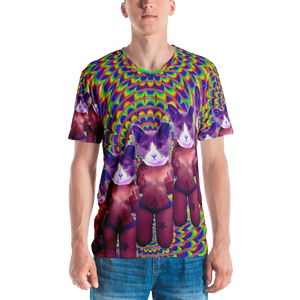 Trip Buddy T-shirt - Astral Wizard Art