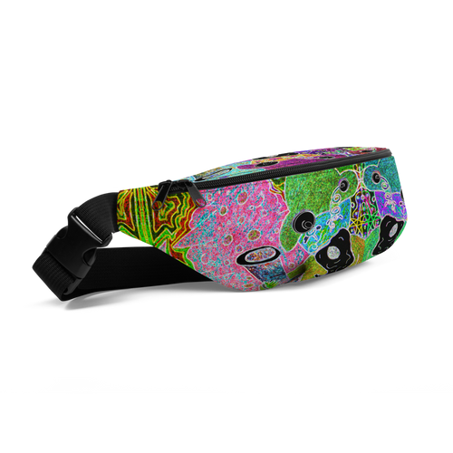 Trippin' Wizard Fanny Pack - Astral Wizard Art