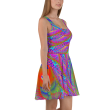 Load image into Gallery viewer, Symbiosis Skater Dress - Astral Wizard Art