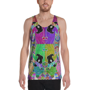 Trippin' Wizard Tank Top - Astral Wizard Art
