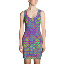 Load image into Gallery viewer, Ayahuasca Dreams Bodycon Dress - Astral Wizard Art