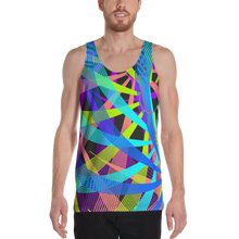 Load image into Gallery viewer, Colour Vortex Tank Top - Astral Wizard Art