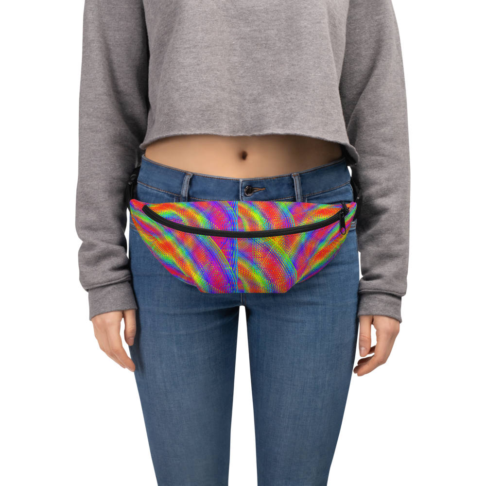 Whirly Bird Fanny Pack - Astral Wizard Art
