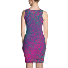 Load image into Gallery viewer, Eternal Borealis BodyCon Dress - Astral Wizard Art