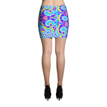 Load image into Gallery viewer, Euphoria Mini Skirt - Astral Wizard Art