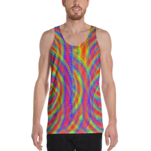 Load image into Gallery viewer, Whirly Bird Tank Top - Astral Wizard Art