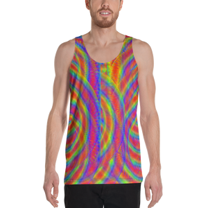 Whirly Bird Tank Top - Astral Wizard Art
