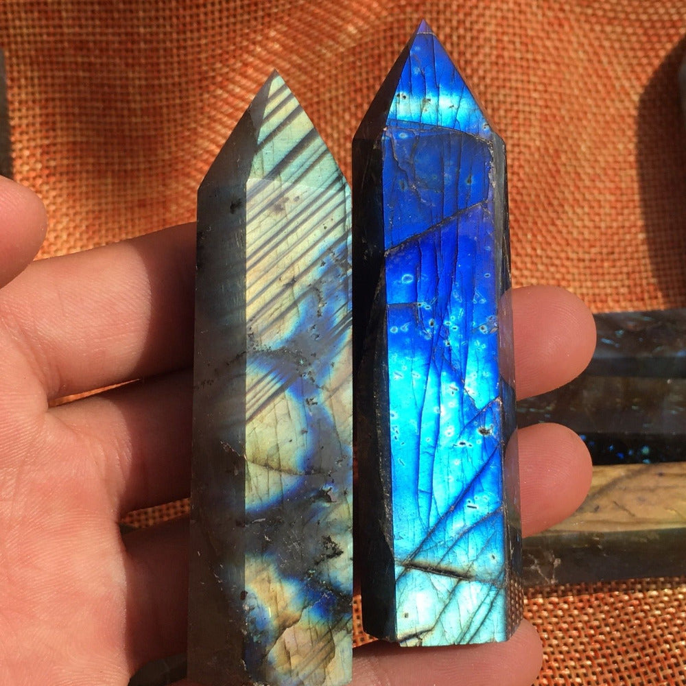Labradorite Obelisks - Astral Wizard Art