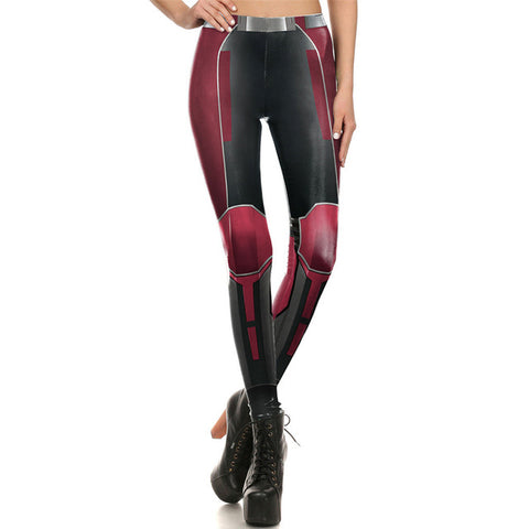 Robo-Red Leggings, ,- Rave Accessories
