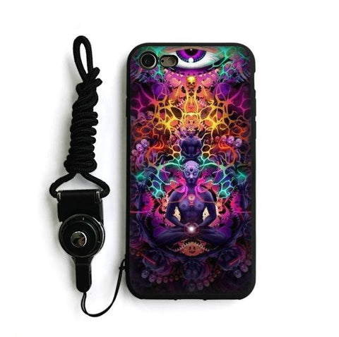 Acid iPhone Case