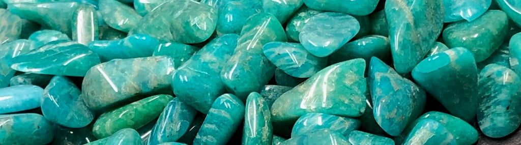 galets d'amazonite