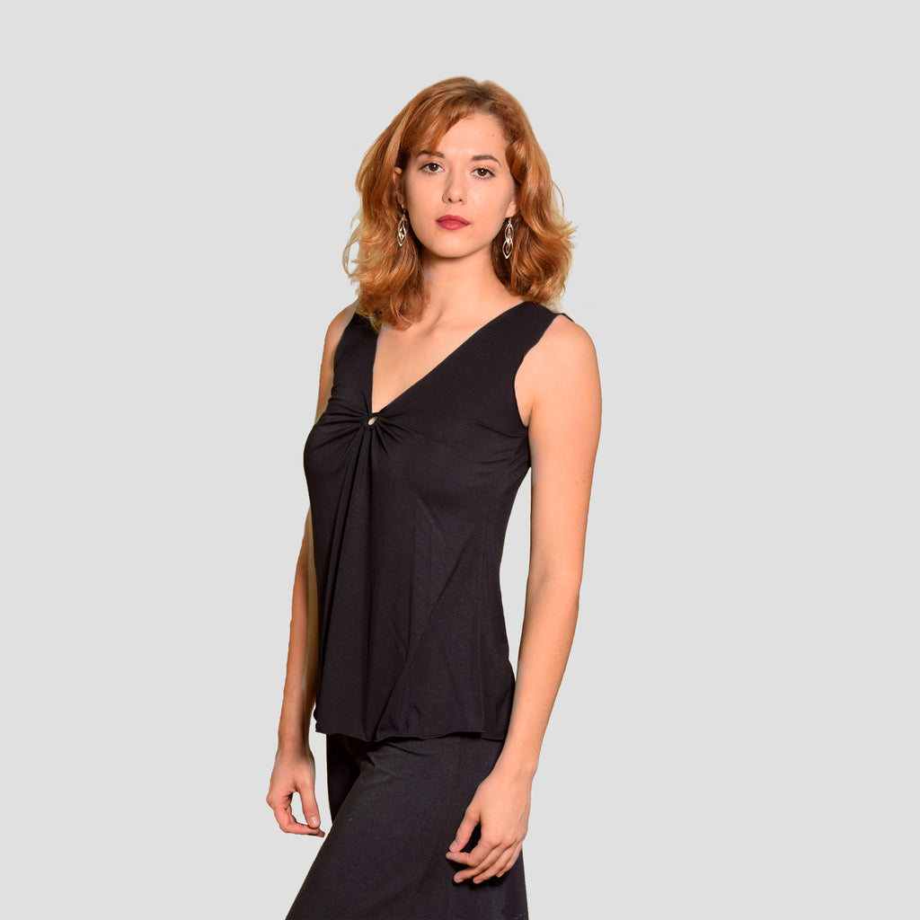Aster Top in Black