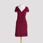 Kaila Dress in Burgundy
