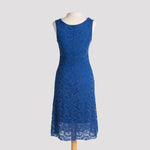 Kala Dress in Sapphire Lace