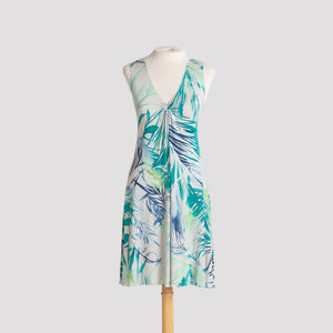 Lakshmi Dress in Tropical Palms