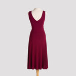 Milonga Dress in Burgundy