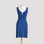 Ulana Dress in Heather Sapphire