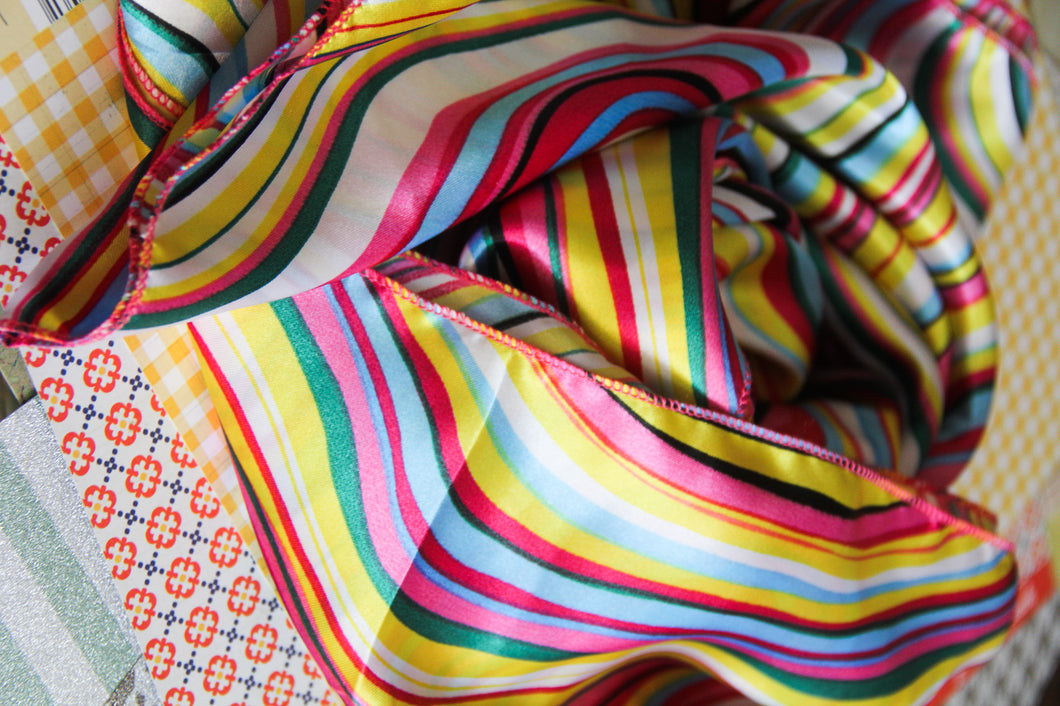 Wild Rag in Bright Stripes
