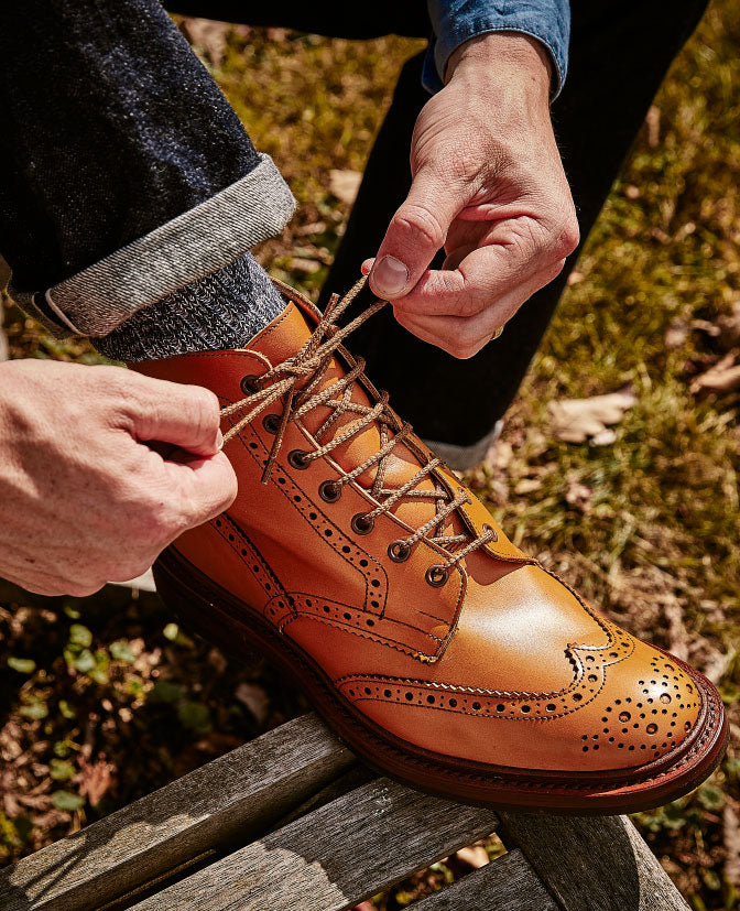 Trickers quality shoes