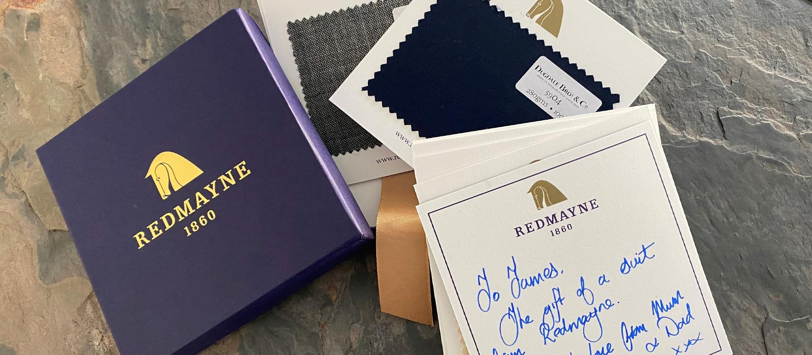 Redmayne Suit In A Box, the perfect gift.
