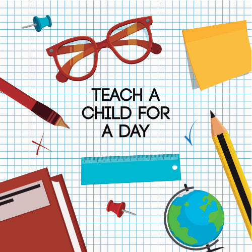 Teach a child for a day