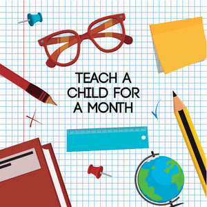 Teach a child for a month