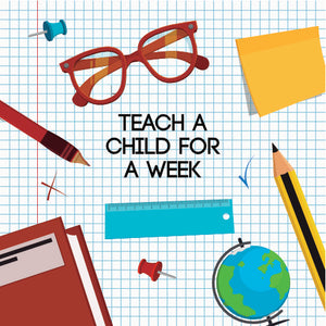 Teach a child for a week