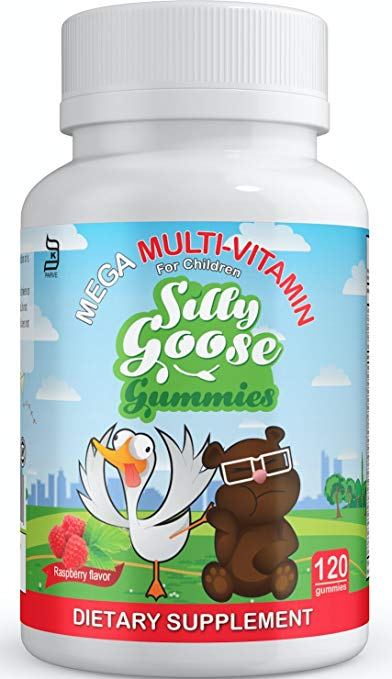 Sillygoose Gummies MEGA Multivitamin -120ct