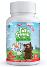 Load image into Gallery viewer, Sillygoose Gummies MEGA Multivitamin - 90ct