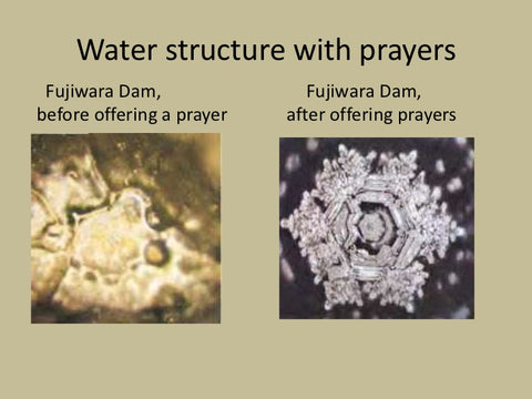 Dr Emoto Prayer Water