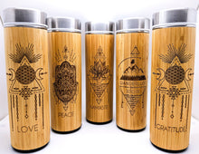 Load image into Gallery viewer, 17.9oz Bamboo Tumbler