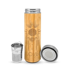 Load image into Gallery viewer, 16.9oz LOVE Bamboo Tumbler